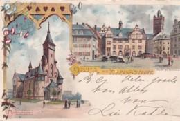 3728242Gruss Aus Darmstadt (Gestempelt 1901) - Darmstadt