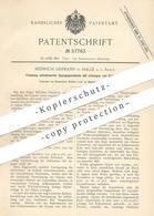 Original Patent - Heinrich Lehmann , Halle / Saale , 1890 , Tränkung Entwässerter Gipsgegenstände Von Kaliumborat - Documenti Storici