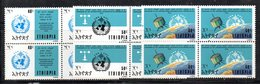 ETP45 - ETIOPIA 1973 , Yvert Serie In Quartina Yvert N 666/668  ***  MNH  OMM - Ethiopia