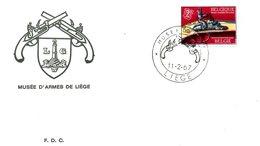 BELGIQUE. N°1406 De 1967 Sur Enveloppe 1er Jour. Musée D'armes De Liège. - Museums