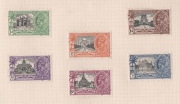 India, MH, 1935, Michel 138_44, 139 Is Missing, George V Silver Jubilee - 1911-35 Roi Georges V