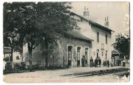 CPA Original Dep 46 ROCAMADOUR - Gare Cour Intérieur - Rare Animation - Rocamadour