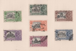 India, Used, 1935, Michel 138_44,  George V Silver Jubilee - 1911-35 Roi Georges V