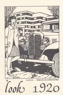 """A.C.D.A.  Week End Du Collectionneur """" Look  1920 """" - Bourses & Salons De Collections"""