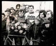 KEIEM BEERST   FOTO 10 X 8.5 CM  1973  ERIC MATHYS WINNAAR VOOR KLUYVERS OPENBARE DIENSTEN - Diksmuide