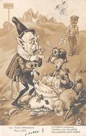Thème Politique Satirique Illustré Par Henri Hurren : Les Mois Parisiens Mars 1910  Emile Combes (voir Scan) - Satiriques