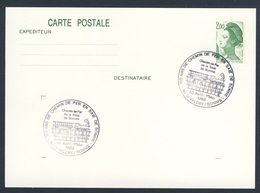France Rep. Française 1988 Card / Karte / Carte - 100 Ans Chemin De Fer, Baie De Somme / Railway / Eisenbahn - Treinen