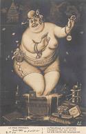 Thème Politique Satirique Illustré Par Henri Hurren : Les Mois Parisiens Avril 1910  Constitution Seins Nus (voir Scan) - Satiriques