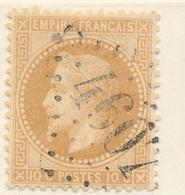 N°28 VARIETE G.C.4607 BASTELLICA 19 INDICE 29.  43 INDICE 12 - 1863-1870 Napoleon III With Laurels