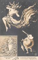 Thème Politique Satirique Illustré Par Henri Hurren : Les Mois Parisiens Mai  1910  Astronomie Comète (voir Scan) - Satiriques