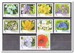 Guernsey 2009, Postfris MNH, Flowers - Guernesey