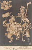 Thème Politique Satirique Illustré Par Henri Hurren : Les Mois Parisiens Juillet  1910 Albert 1er (voir Scan) - Satiriques