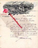 ASIE- VIET NAM- INDOCHINE-CHINE-HANOI- RARE LETTRE MANUSCRITE SIGNEE M. GODARD- SCHLITZ BREWING-THE BEER MILWAUKEE-1902 - Factures & Documents Commerciaux