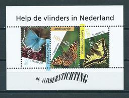 Netherlands Stadspost M/sheet Butterfly,schmetterlinge,papillon MNH/Postfris/Neuf Sans Charniere - Vlinders