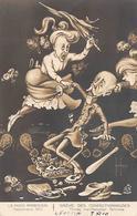 Thème Politique Satirique Illustré Par Henri Hurren : Les Mois Parisiens Septembre 1910  Grève Des Confectio (voir Scan) - Satiriques