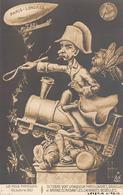 Thème Politique Satirique Illustré Par Henri Hurren : Les Mois Parisiens Octobre 1910  Briand Cheminots  (voir Scan) - Satiriques