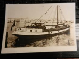 19829) BARCA DA CARICO A VELA E MOTORE PROBABILMENTE LAGUNA DI VENEZIA SENZA DATA - Segelboote