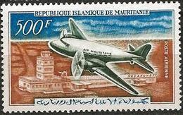 Mauritania 1963 Scott C19 MNH Air Mail Plane, Airport - Mauritania (1960-...)