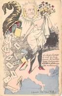 Thème Politique Satirique Illustré Par Mille Année Politique 1908 . Béranger. La Chaste Europe(voir Scan) - Satiriques