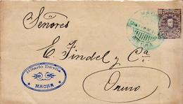 Postal History Cover: Bolivia Postal Stationery Cover - Bolivie
