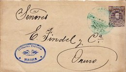 Postal History Cover: Bolivia Postal Stationery Cover - Bolivia