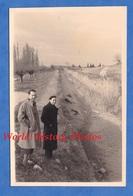 Photo Ancienne Snapshot - Lieu à Situer - Canal à Sec ? - Lire Verso - Sud De La France ? - Boten