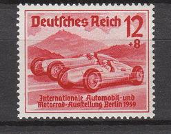 Deutschland Deutsches Reich **  687 Rennwagen Auto Union Katalog 30,00 - Deutschland