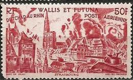 Wallis And Futuna 1946 Scott C7 MNH (high Value) Tchad To Rhin - Wallis And Futuna