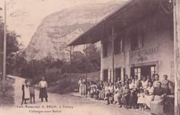 COLLONGE SOUS SALEVE           CAFE RESTAURANT A BRUN A VOVRAY - France