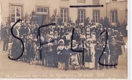 MARCIGNY          CARTE PHOTO      CONCOURS AGRICOLE   LE 10 AOUT 1913.      ENFANTS DEGUISES   PHOTO L FRANCOIS - France