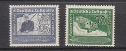 Deutschland Deutsches Reich **  669-670 Graf Zeppelin Katalog 55,00 - Deutschland