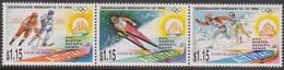 Aitutaki 1994 Yvertn° 535-537 *** MNH Cote 12,00 Euro Sport Jeux Olympiques Lillehammer - Aitutaki