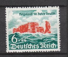 Deutschland Deutsches Reich ** 750 Helgoland 50 Jahre Deutsch Katalog 30,00 - Deutschland