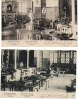 D75  PARIS V ème Institut Musulman Mosquée De Paris Café Maure Lot De 2 CP Au Dos En Tête Restaurant Chez Brahim - Arrondissement: 05