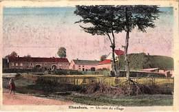 Elsenborn - Un Coin Du Village (colorisée, Edit. For. Robert, Animée) - Elsenborn (camp)