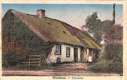 Elsenborn - Chaumière (colorisée, Edit. For. Robert, Animée) - Elsenborn (camp)