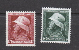 Deutschland Deutsches Reich **  569-570 Heldengedenktag Katalog 20,00 - Deutschland
