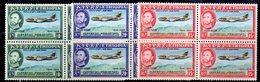 ETP52 - ETIOPIA 1955 , POSTA AEREA Yvert Serie In Quartina Yvert N 35/37  ***  MNH - Etiopia