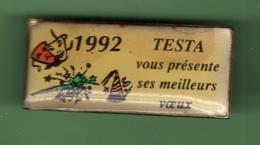 TESTA *** VOEUX 92 *** 0098 - Badges