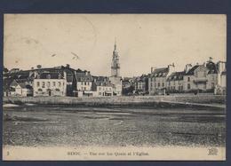 Binic Vue Sur Les Quais Et L'église - Binic