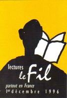 """Carte Postale """"Cart'Com"""" - Série Sida, Santé - Lecture Le Fil - Sida-solidarité-spectacle - Santé"""
