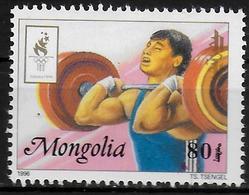 MONGOLIE   N° 2088  * *  Jo 1996 Halterophilie - Haltérophilie