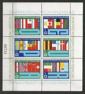 BULGARIA - MNH - Philately - U.P.U. - Flags - 1980 - U.P.U.