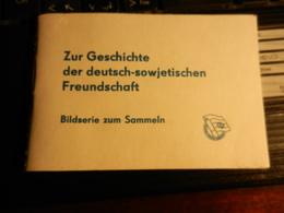 19829) ZUR GESHICHTE DER DEUTSCH-SIWJETISCHEN FREUNDSCHAFT CURIOSO LIBRETTO CON DISEGNI 1982 - Books, Magazines, Comics