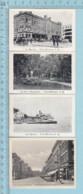 Trois-Rivieres Quebec, 4 Cartes Miniature De Trois-Rivieres, Les Quaies, Rue Notre Dames, Parc Champlain, Le Marché - Other Collections