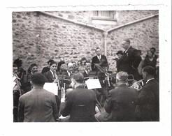 Saint-Fargeau-Ponthierry (77 - Seine Et Marne)  Quartier De Moulignon - Les Musiciens - Photo De 1941 - Personnes Anonymes