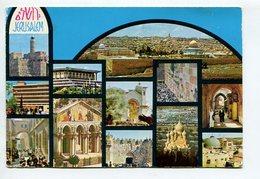 POSTAL JERUSALEM ISRAEL OBLITERES CIRCULATED 1992 -LILHU - Israël