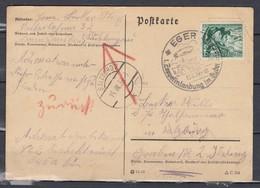 Postkarte Eger Zeppelinlandung Im Sudel Naar Salzburg (479) - Allemagne