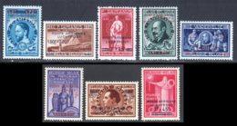 Belgique PA 1947 Yvert 15 / 19 - 21 / 23 ** TB - Poste Aérienne