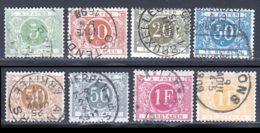 Belgique Taxe 1895 Yvert 3 - 5 / 11 (o) B Oblitere(s) - Taxes